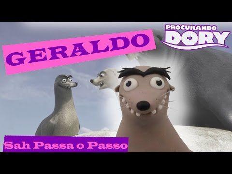 DIY- GERALDO (Procurando Dory) - Sah Passa o passo - YouTube
