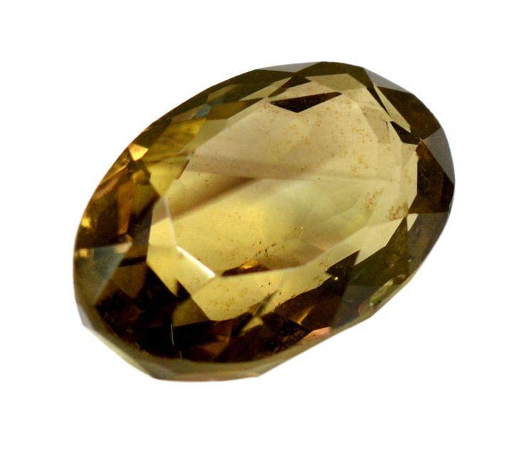 39ct Rare Natural Smokey Quartz Oval Shape Faceted Loose Gemstone on ebay