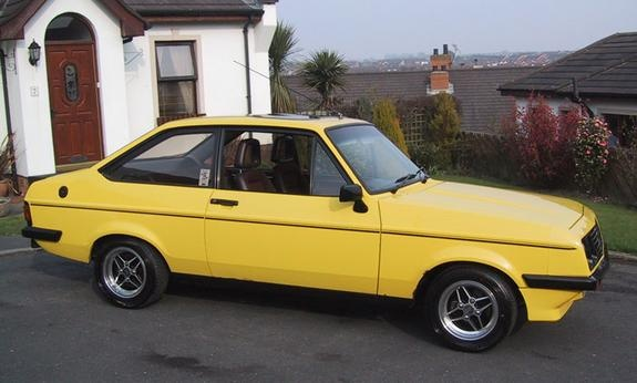 1980 2 L 4 cyl Ford Escort
