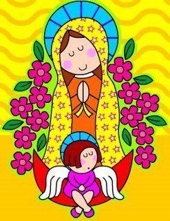 LA VIRGEN DE GUADALUPE~Distroller es un mundo donde conviven divertidos personajes que seguro te enamorarán. http://infantes.linio.com.mx/featured/distroller-para-ninas/