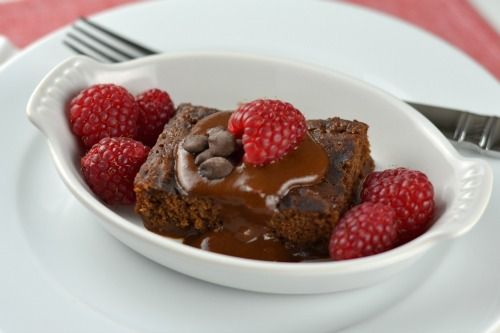 This looks like a delicious gluten-free and vegan chocolate dessert!