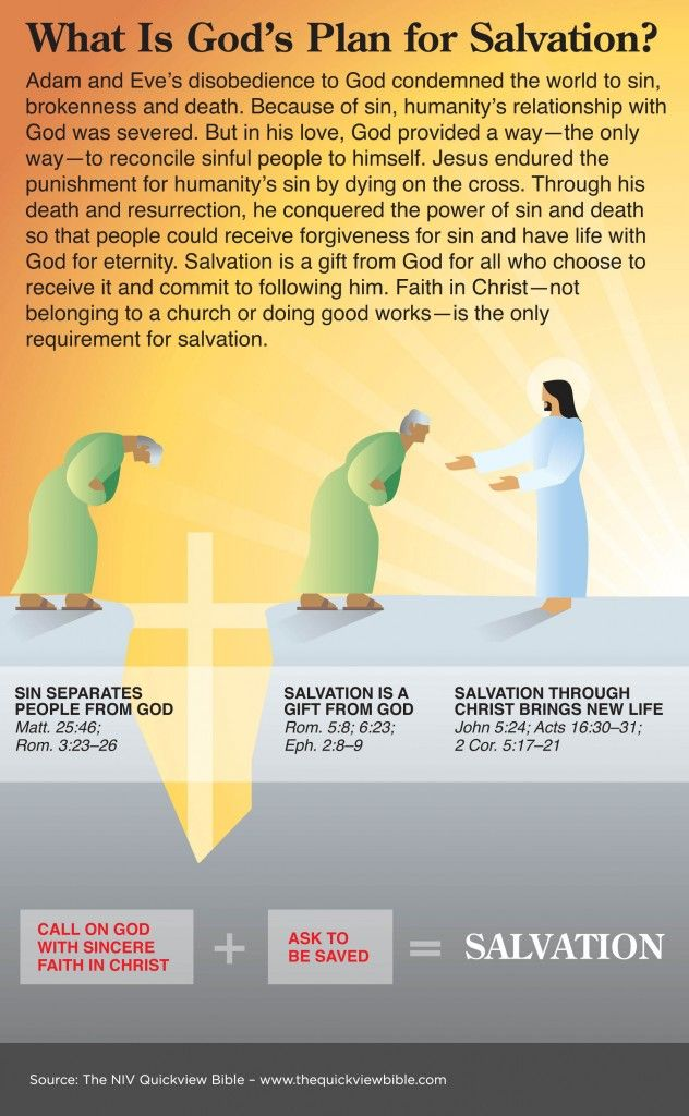 The Quick View Bible » What Is God's Plan for Salvation?
