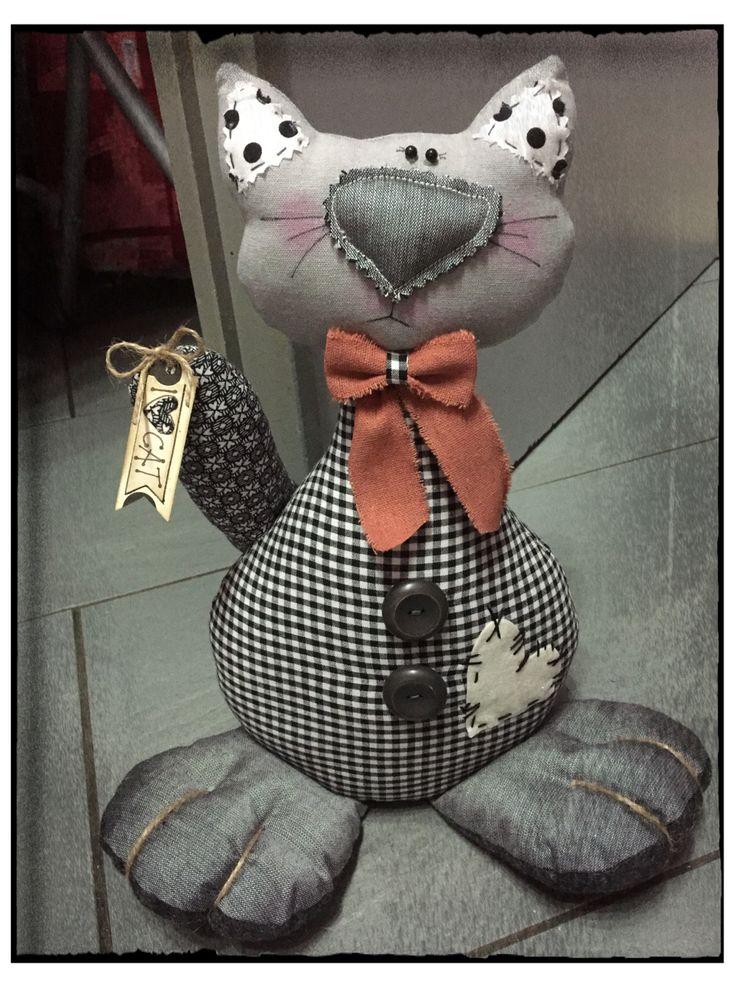 fermaporta gatto/ peso de porta/ doorstop