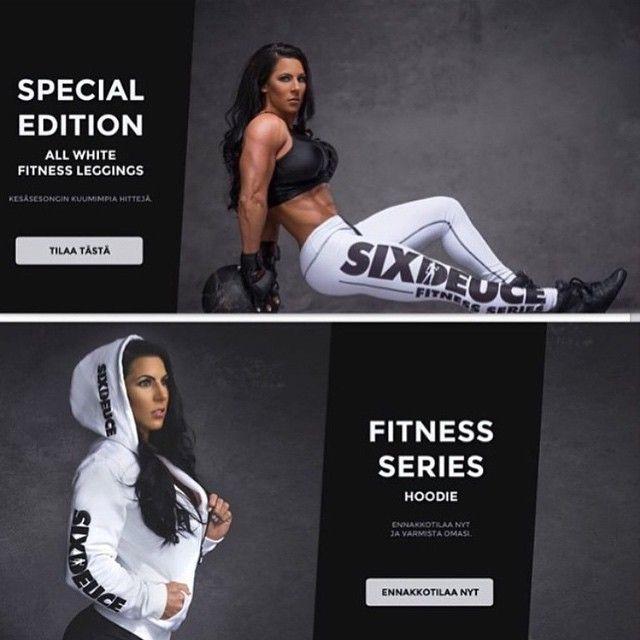 new layout at www.sixdeuce.fi @vanda_williams #sixdeuce #62sixdeuce #allwhite #fitness #fitnessseries ...