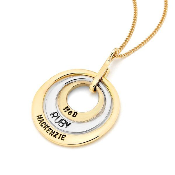 Combination Ubercircles by Uberkate - Rose, Yellow or White Gold
