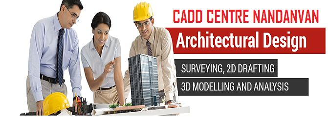 Learn AutoCAD with practical that cover beginner to advanced techniques. Experts from cadd centre nandanvan .we provide AutoCAD training to help you master of software. 13, 1st floor, Nandanvan Main Road, Bhande Plot Square,beside Sneha Tuition Classes,Nagpur  Tel.0712-3195454  Mob: 7507111167  Email:enquiry@caddcentrenag.com