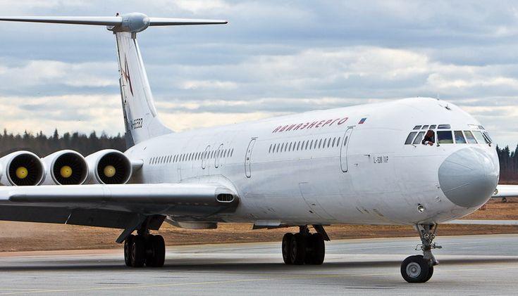 Ilyushin Il-62 with 6 engines
