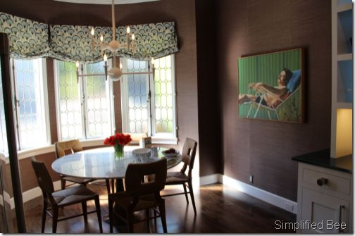Window Treatments For Breakfast Nook Not The Guy On The
