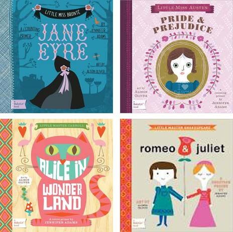 Little Miss Bronte: BabyLit Brings Shakespeare & Jane Eyre Classics To Toddlers - Child Mode