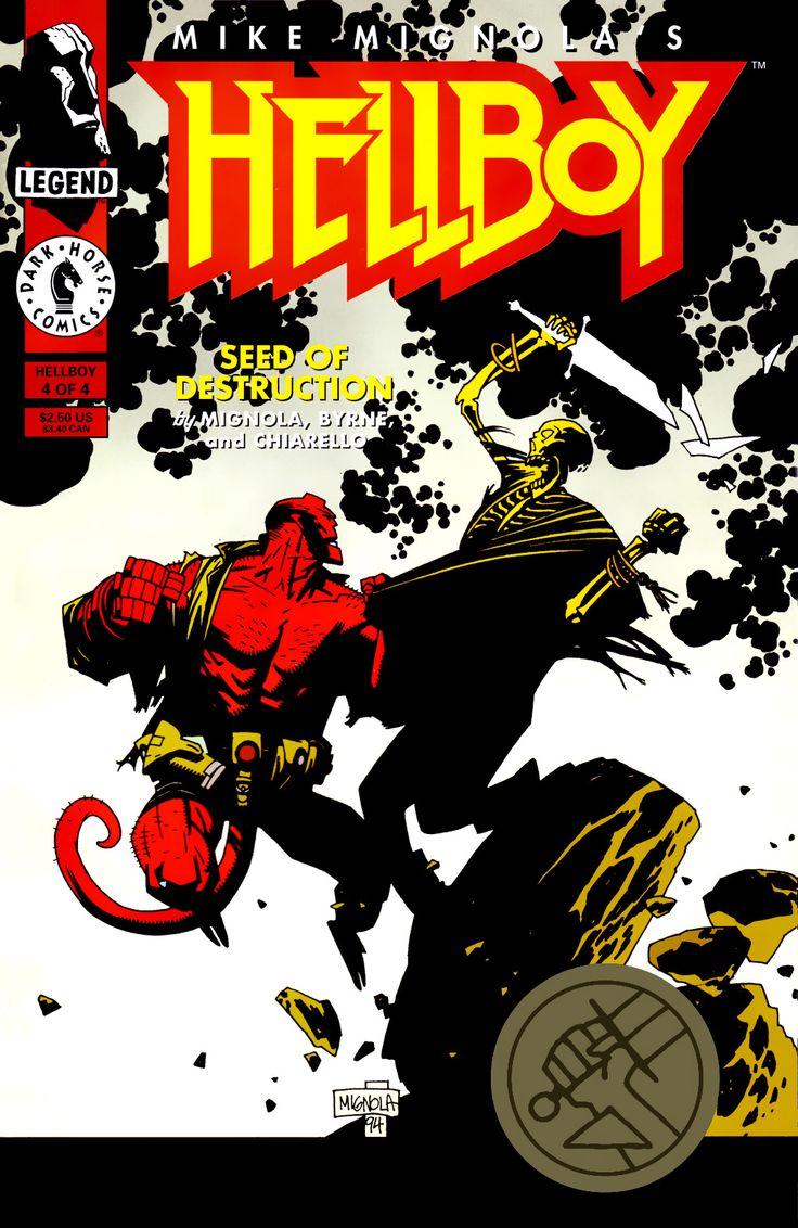 Hellboy: Seed of Destruction Issue #4 - Read Hellboy: Seed of Destruction Issue #4 comic online in high quality