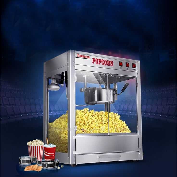 280.00$  Buy here - http://ali8jx.worldwells.pw/go.php?t=32668362799 - 1PC 2016 High Quality Popular Popcorn Machine Popcorn Maker Commercial Popcorn Machine 280.00$