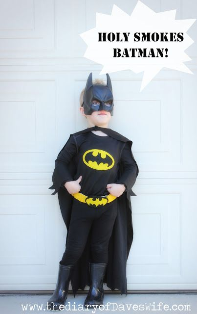 DIY Batman & Batmobile | The Diary Of DavesWife