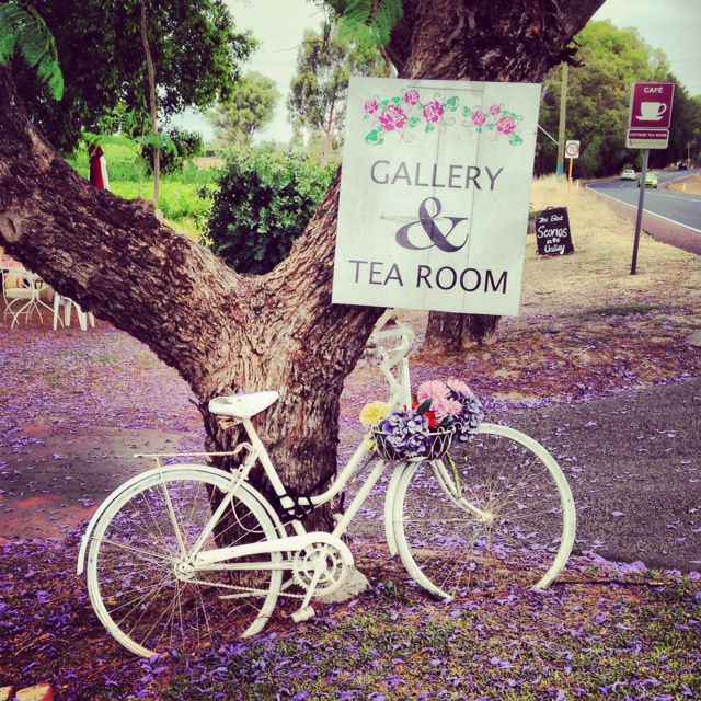 Tea and Scones in the Swan Valley - Western Australia