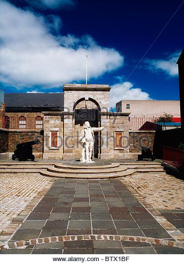 Governor George Walker Memorial, Derry City, Co Derry, Ireland - Stock Image