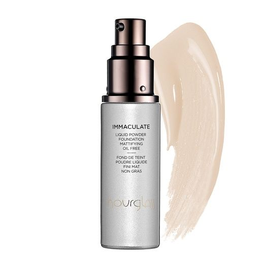 Rank & Style - Hourglass Immaculate Liquid Powder Foundation Mattifying Oil Free #rankandstyle