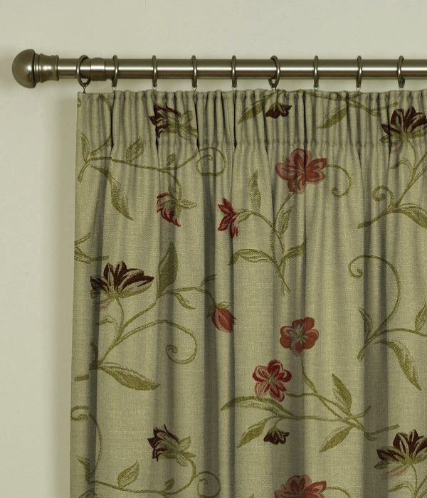 Charlotte Chintz Pencil Pleat Curtains 1