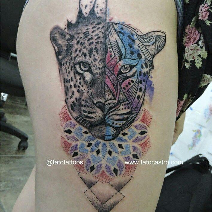 17 Best Ideas About Jaguar Tattoo On Pinterest