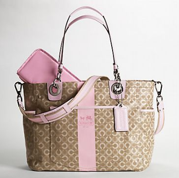 Coach Diaper bag - I would carry this as a regular bag as well