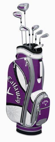 New! Callaway Women's Solaire Gems Amethyst Golf Club Complete Set 8-Piece https://www.discount-golf-irons.com/product/callaway-womens-solaire-gems-amethyst-golf-club-complete-set-8-piece/ #GolfClubs #Callaway
