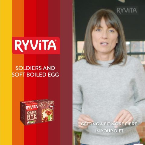 Discover Davina's favourite breakfast. It's Ryvita, but not as you know it!