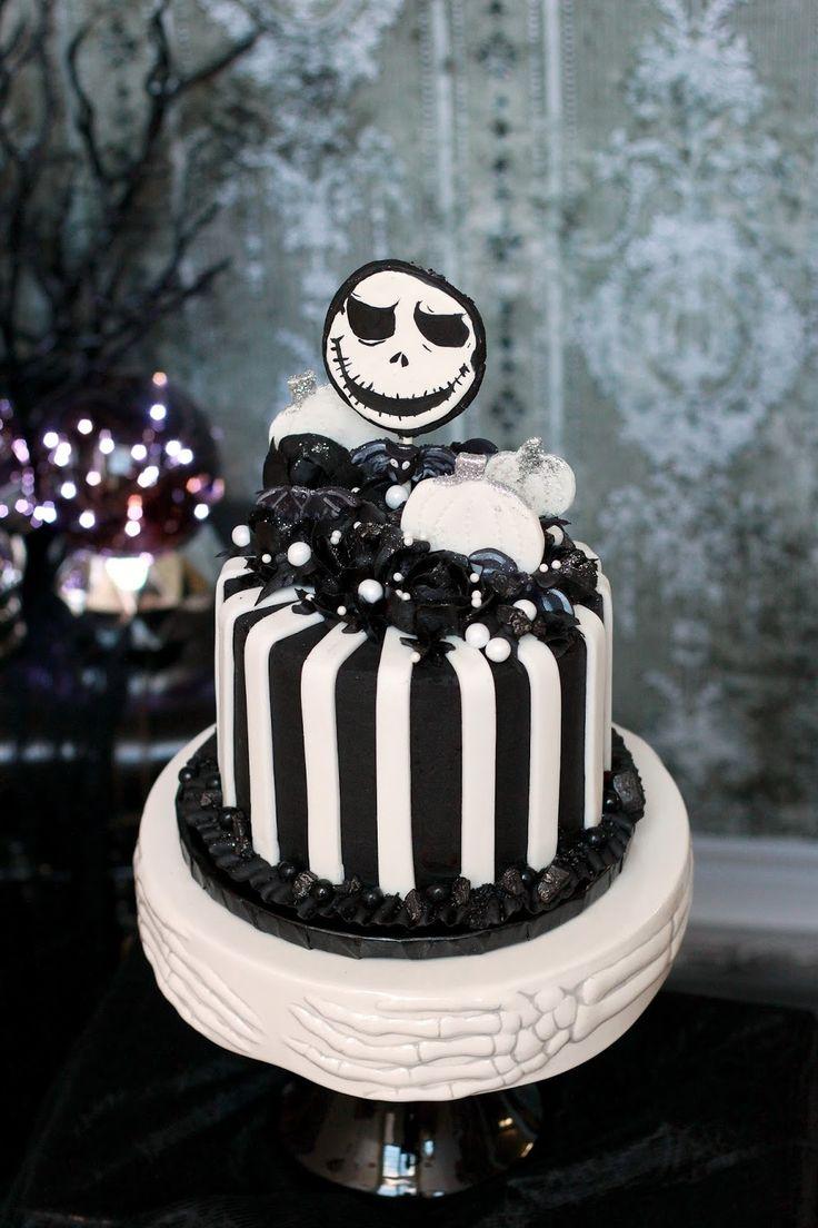 Jack Skellington Nightmare Before Christmas Cake