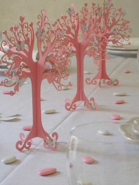 Hartboom rode kleur bruiloft decoratie van KölnSchätze® op DaWanda.com