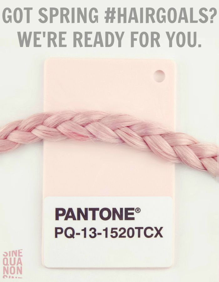 Pantone Color Of the Year 2016 | Rose Quartz | Got Spring #HairGoals? We're Ready For You.