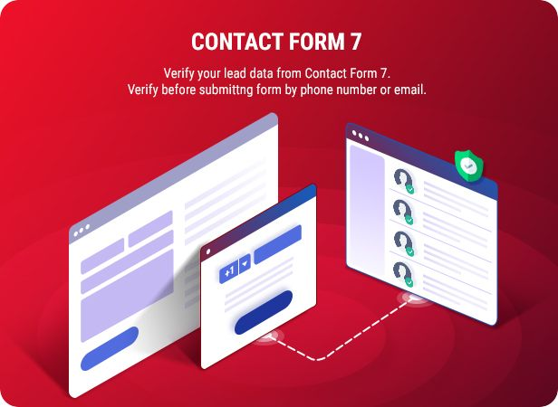 Smart OTP is integrated into Contact Form 7, the most famous