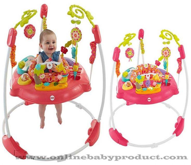 Minimalist Fisher Price Pink Petals Jumperoo Plan - Beautiful baby bouncer walker Style