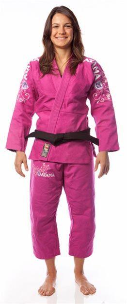 Atama Women's Kyra Gracie Signature Gi - Pink | FightersMarket.com