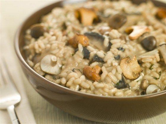 Ризотто с грибами и пармезаном рецепт – итальянская кухня: ризотто. «Афиша-Еда»