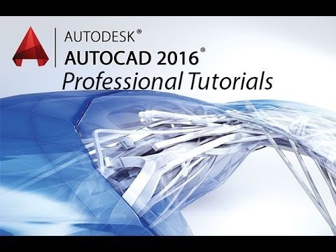 Beginner Tutorial 1 - Autodesk AutoCad 2016 - Designing a Basic House