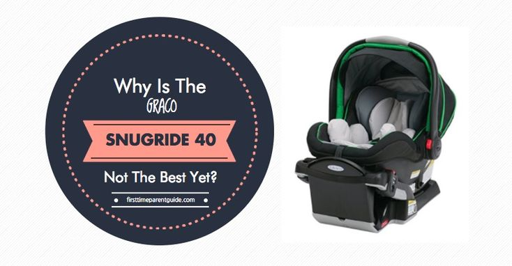 The Graco Click Connect Snugride 40 promises to accommodate a child rear-facing for up to 2 years of age. It's a bold claim knowing that many infant seats can only be used for as long as 1 year.  Aside from this tempting promise, let's see what this seat has to offer and if it indeed lives up to its promise.  Read more.