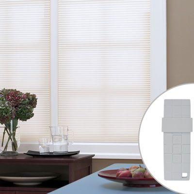 77 best window treatments diy images on pinterest window blinds motorized cellular shades blindscomwin motorized shadesdiy solutioingenieria Images