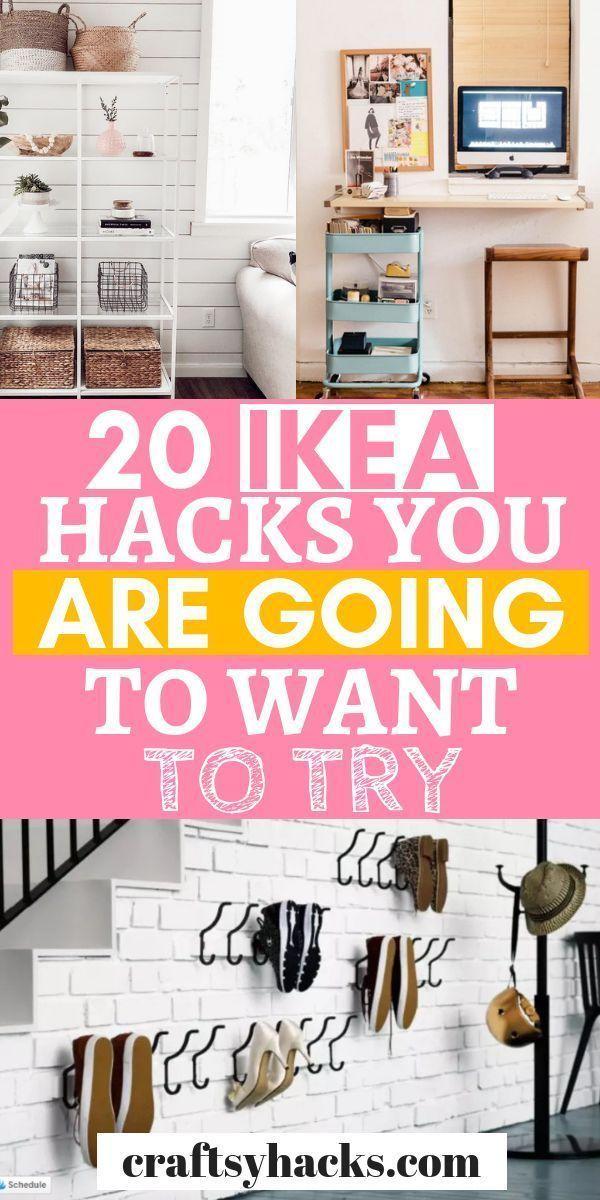 Probieren Sie diese Ikea-Hacks aus und dekorieren Sie sie zu Hause einfacher. Diese ikea Ideen geben Ihnen so …