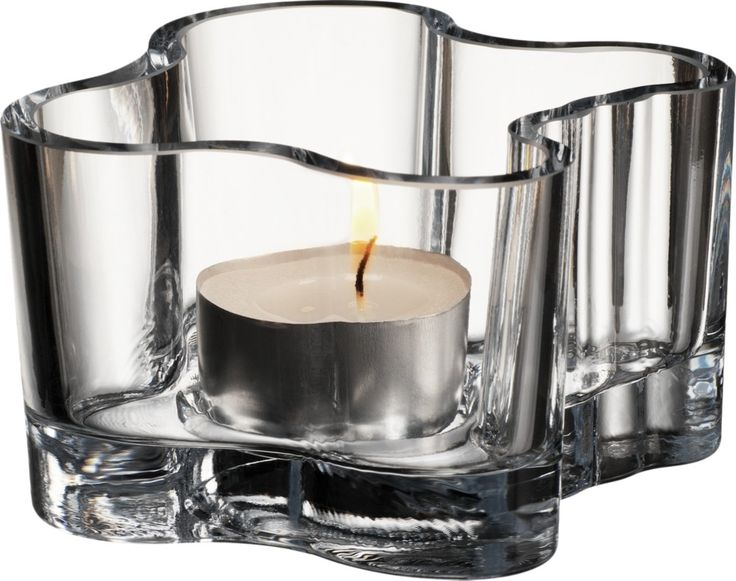 Iittala - Alvar Aalto Collection Votive 55 mm clear - Iittala.com