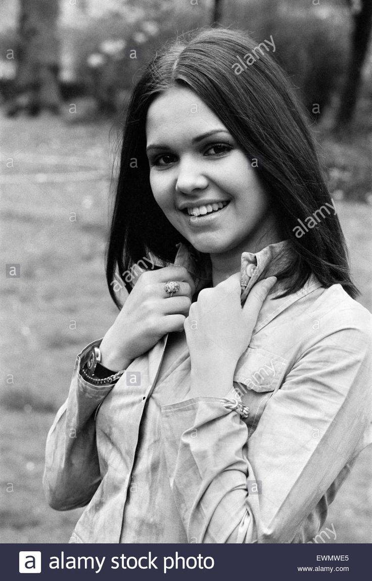 """French singer Anne-Marie David, winner of the 1973 Eurovision Song Contest representing Luxembourg with the song Tu te reconna""""tras, pictured in London after the competition. 1st May 1973."""