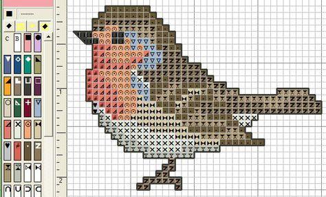 Oiseau - points comptés