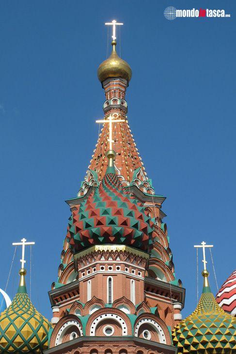 Un dettaglio della principale tra le 9 #cupole di #SanBasilio. La chiesa è #PatrimonioUnesco e segna il centro geografico di #Mosca