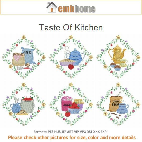kitchen embroidery designs. Taste Of Kitchen Machine Embroidery Designs Instant Download 4x4 5x5 6x6  hoop 10 designs APE2232 802 best Sew It Appliqu images on Pinterest