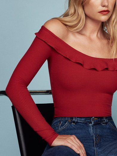 The Emmeline Top  https://www.thereformation.com/products/emmeline-top-cherry?utm_source=pinterest&utm_medium=organic&utm_campaign=PinterestOwnedPins