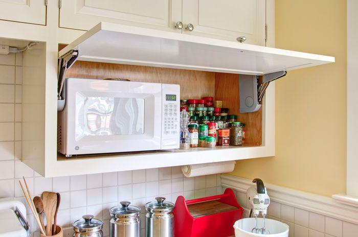 Куда поставить микроволновку на кухне: 5 лучших вариантов – Полезные советы