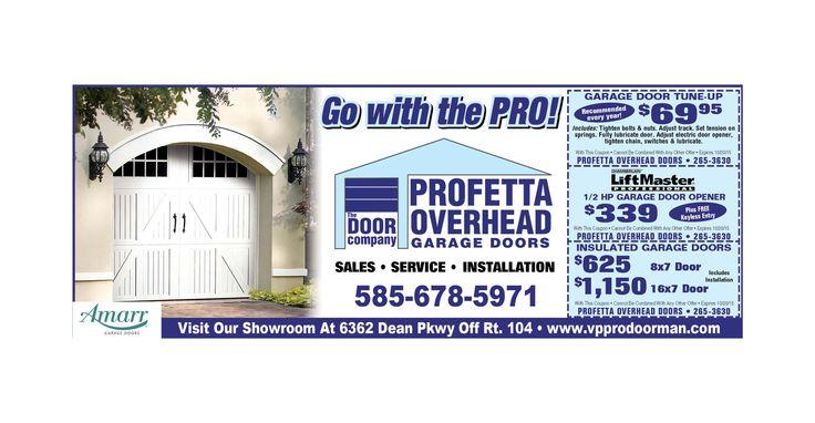 Save On Garage Door Installation With Profetta Overhead Door
