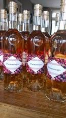 Mijn pruimenwijn...gebotteld!!