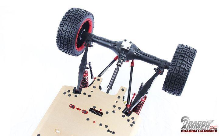 FID Dragon Hammer Rear Axle