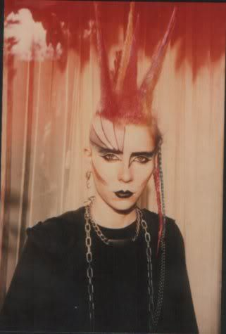 Punk with liberty spikes