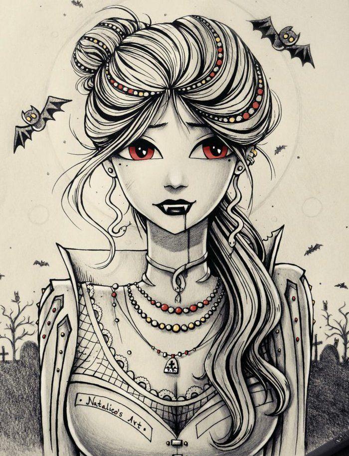 1001 Ideen Fur Madchen Zeichnen Zur Inspiration Deviantart Zeichnungen Portratzeichnung Zeichnungen Fur Madchen