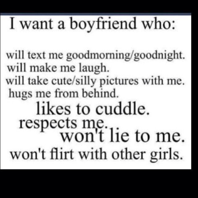 So true. A boyfriend like that is goals.
