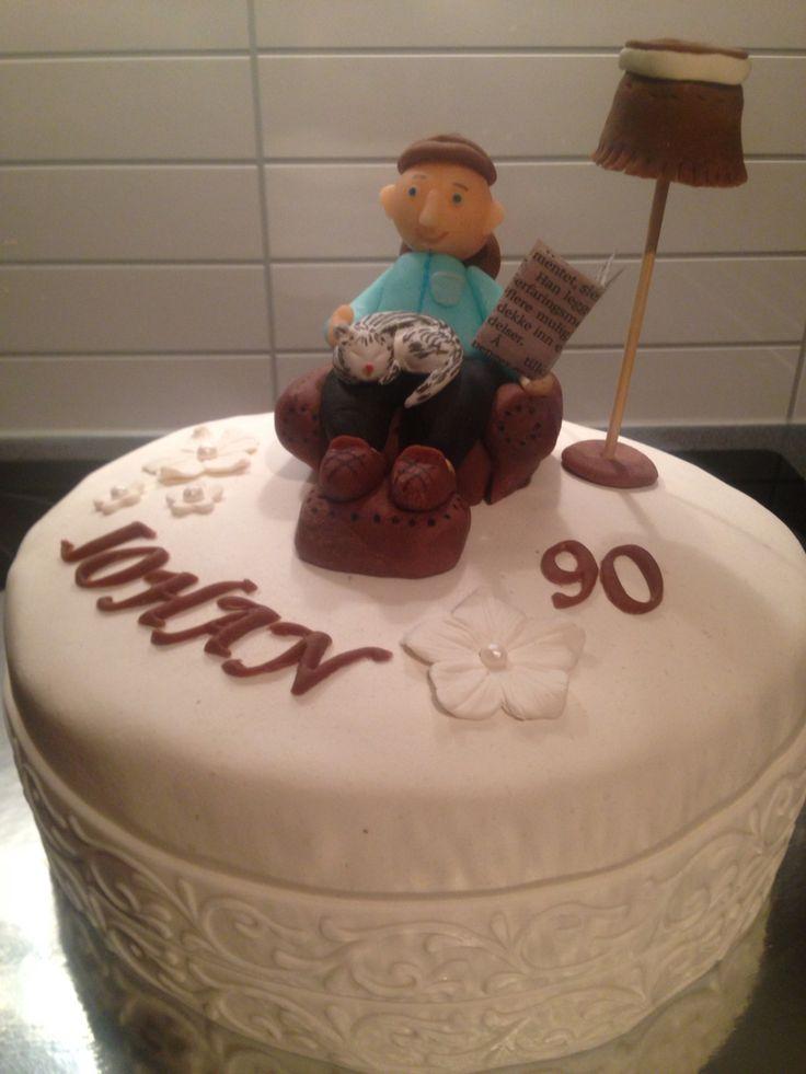 Bursdagskake til 90åring