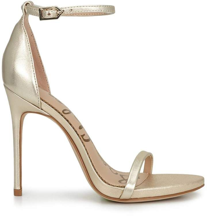 Strap Sandal is sexy and sophisticated in tandem. This sleek stiletto is inspired by Parisian style and adds both edge and glamour to any an evening look. Available in other colors too. #prom #eveningdresses #sandals